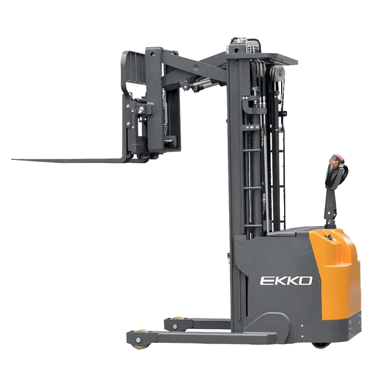 "EKKO ER15L Walkie Reach Truck 3300lbs. Cap., 138"" Height, Side Shift"